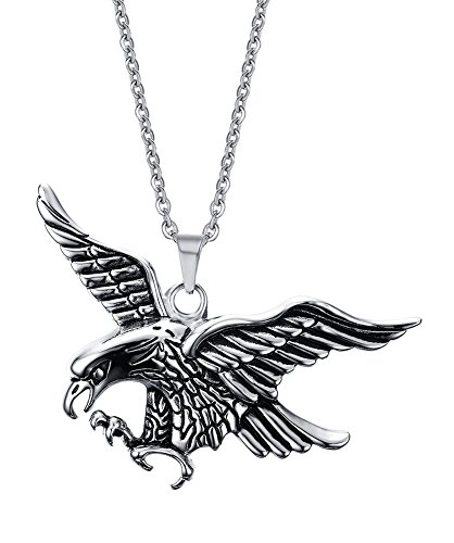 stainless-steel-vintage-eagle-pendant-necklace