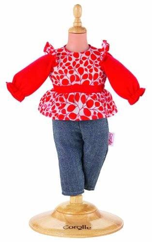 "Corolle Denim Pants Set for 14"" Miss Corolle"
