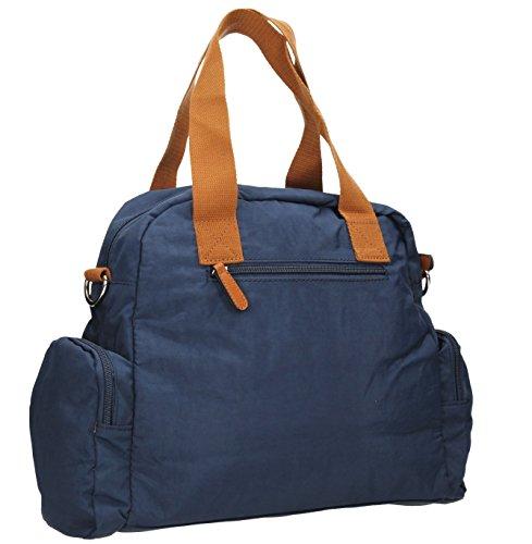 SwankySwansKempton Ladies Day Multi Zip L - Borse a Tracolla donna Navy blue