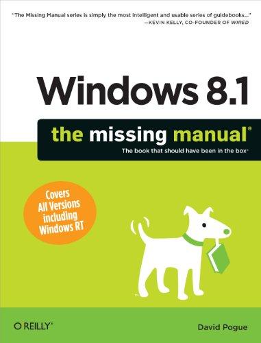 Windows 8.1: The Missing Manual (Missing Manuals) Epub