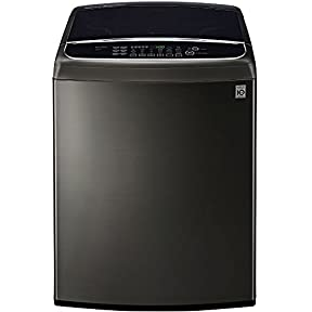 LG WT1901CK 5.0 Cu. Ft. Top Load Black Stainless Washer WT1901CK