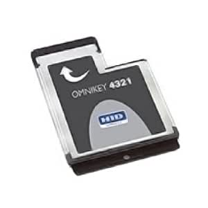 New Omnikey 4321 v2 Mobile ExpressCard 54 Smart Card Reader HID Identity USB 2.0