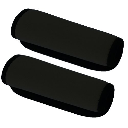 Travelon Set of 2 Handle Wraps, Black - 12340-500