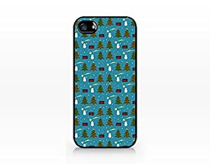 Christmas Pattern - Hard Plastic Case for Iphone 5/5s [Wireless Phone Accessory]