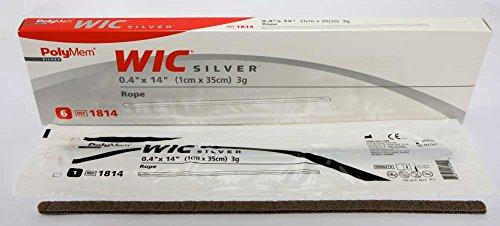 PolyMem WIC Non-Adhesive Wound Dressing, Cavity Filler, Foam, 0.4