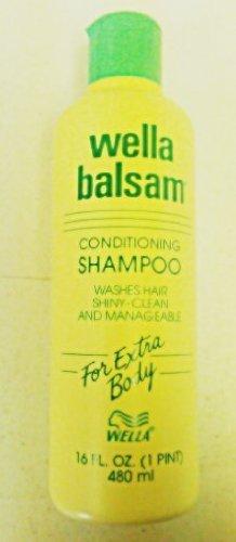 amazon com wella balsam conditioning shampoo for extra body 16 oz