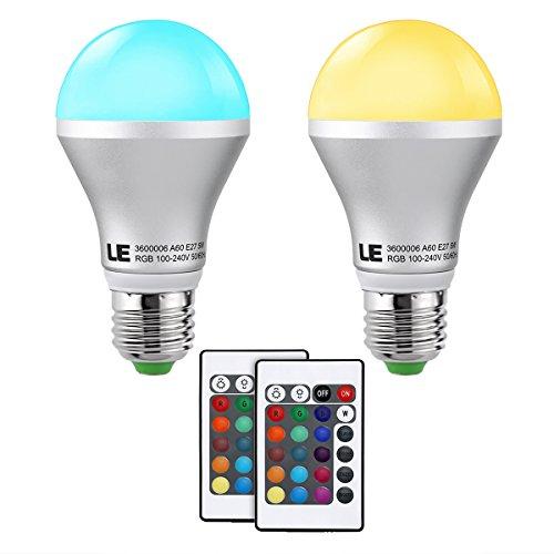 LE 5W RGB A19
