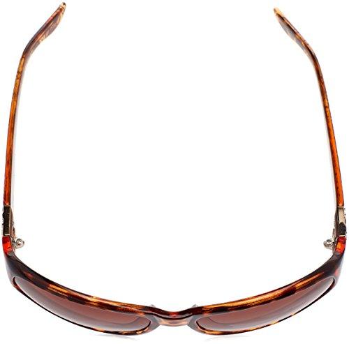 Mujer de Sol GU6395 S58 60 para Havana Marrón GUESS Gafas WqYtPAHw