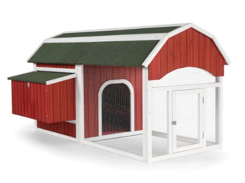 Prevue 465 Red Barn Chicken Coop