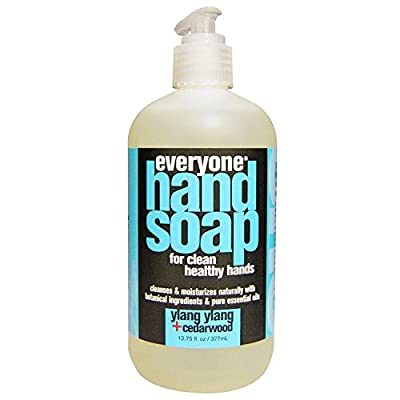 Everyone Ylang Ylang and Cedarwood Hand Soap with Lemon, Grapefruit, Chamomile, Calendula, Aloe and White Tea Extracts, 12.75 fl. oz. (Pack of 2)