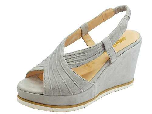 Melluso Women's Fashion Sandals Steel Mx9hUIR