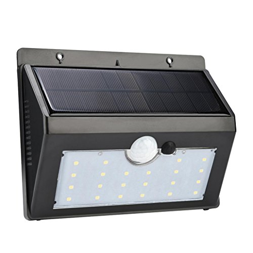 22 LED Solar Power PIR Motion Sensor Waterproof Wall Light For Garden Step Stair Deck by Sonmer
