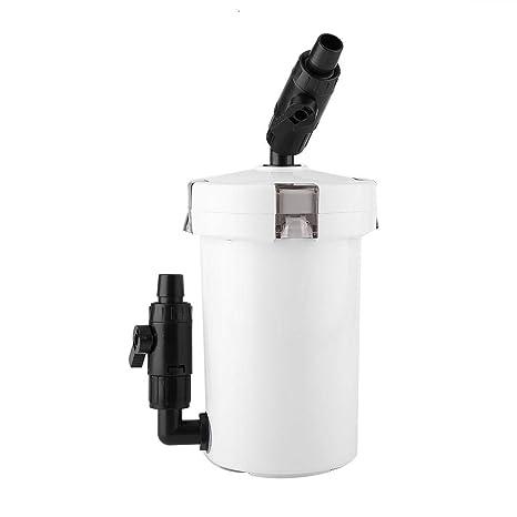 Filtro de acuario, tanque de peces de acuario ultra silencioso Filtro de filtro externo con