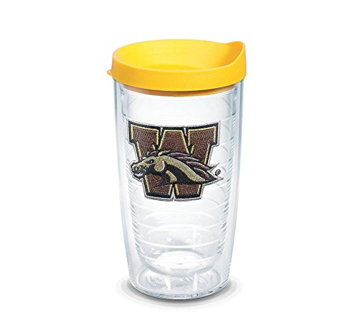 Western Michigan Broncos 16 oz Tumbler with Gold Lid - Gold (Western Michigan Broncos Wall)