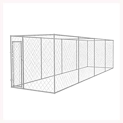 K&A Company Outdoor Dog Kennel 25'x6'