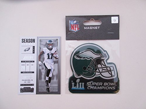 Collectible Magnet (PHILADELPHIA EAGLES SUPER BOWL L11 52 CHAMPIONS MAGNET PLUS COLLECTIBLE PLAYER CARD)