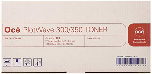 Oce Genuine OEM PlotWave 350   Toner Kit (2 Pk) (1060127660)