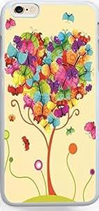 Ultra Slim for iPhone 6 Plus Cartoon Butterfly Tree hongguo's case wangjiang maoyi