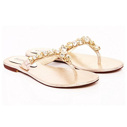 Doré Sandales Shalimar Shoes Plateforme Femme wTxqR0vP