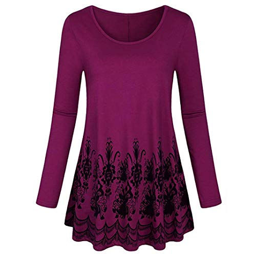 Manches Femme Chemisier Violet V Top Col Dcontract Courtes Solid DAYLIN qxwYvn