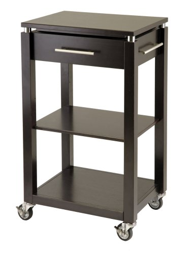 Winsome Wood Linea Kitchen Cart - Linea Kitchen Island