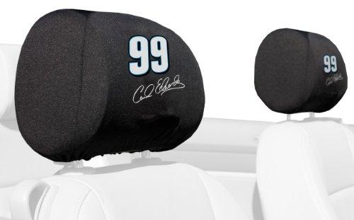 NASCAR Carl Edwards #99 Headrest Cover Pair