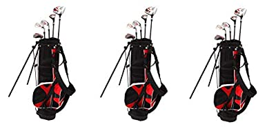 Nitro Kid's Right-Handed 8 Piece Golf Club Set Blaster Kid's Golf Set - 31 Inch Graphite 15-Degree Regular with Bag 9-12 Years