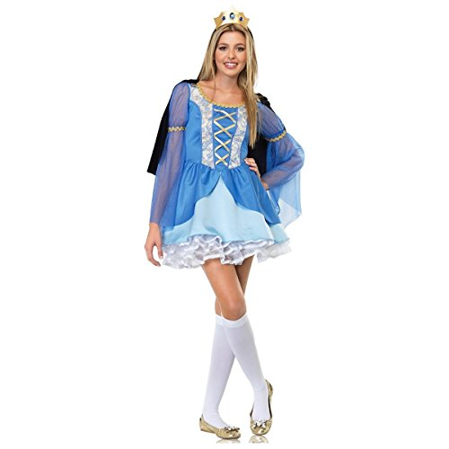 GSG Enchanted Princess Teen Junior Preteen Tween Medieval Queen Halloween (Elf Princess Costume Kit)