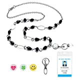 LUXIANDA Women's Exquisite Design Lanyard Unique Lanyard Office Lanyard Badge ID Keys Holder for ID Keys, Badge Holder