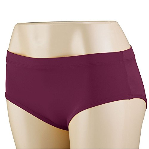 Visor Cheer (Augusta Sportswear Girls' Cheer Brief XS Maroon)