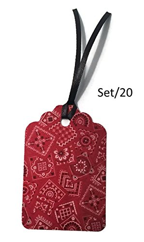 red bandana ribbon - 8