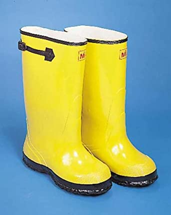 367a786adc6a3 Mutual Industries 14500-8-17 High Visibility Extra Wide Over-the-Shoe Slush  Boot, 17