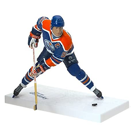 newest c9862 3a7ed McFarlane Toys NHL Sports Picks Legends Series 1 Action Figure Wayne  Gretzky (Edmonton Oilers) Blue Jersey