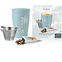 Box of 10 Tea Forte Loose Starter Set with Kati Cup Infuser Steeping