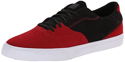 Globe Men's The Sabbath Skateboard Shoe, Red/Black, 11.5 M US (Shoes Womens Globe)