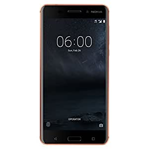 "Nokia 6 Phone - 5.5"" FHD Display - 32GB - Android 8.0 Oreo - Copper (U.S. Warranty)"