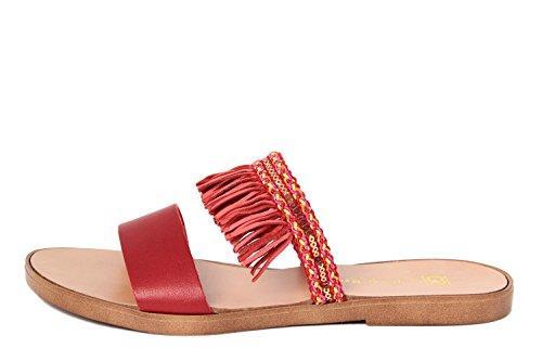 GAGLIANI RENZO - Sandalias de vestir de Material Sintético para mujer rojo rojo