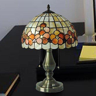 OXOX Aleación de diseño de flores tiffany material de mesa de luz ...
