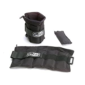 GoFit Adjustable Ankle Weights by