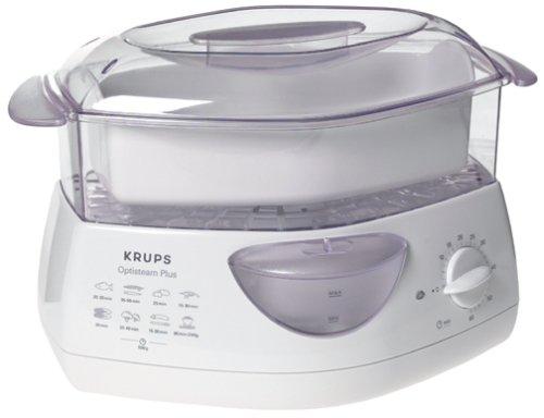 Krups 652-70 OptiSteam Plus 2-Tier Steamer, DISCONTINUED
