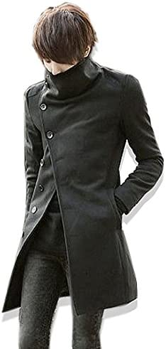 スプリングコート メンズ ロングコート 春 コート ロング丈 コート 着こなし 2020