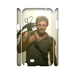 I-Cu-Le The Walking Dead Customized Hard 3D Case For Samsung Galaxy Note 2 N7100