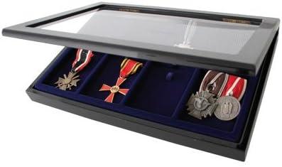 SAFE-ID - Vitrina para exposición de 8 medallas: Amazon.es: Hogar