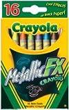 Bulk Buy: Crayola Metallic FX Crayons 16/Pkg 52-8816 (3-Pack)