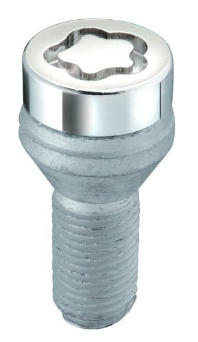 McGard 27204SU Standard - Tornillos antirrobo para ruedas (base cónica, M12 x 1,50, longitud del vástago 24,0 mm, SW17): Amazon.es: Coche y moto