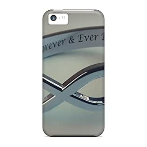 Fashion Protective Diamond Ring Love Eternal Cases Covers For Iphone 5c
