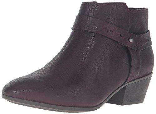 CLARKS Women's Boylan Dawn Boot, Aubergine Leather, 7 M US - Medium Purple Leather Footwear