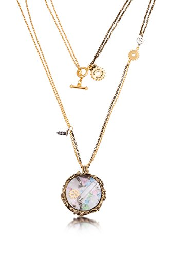 (Disney Couture Tinker Bell Pixie Hollow Lost Things Glass Case Necklace)