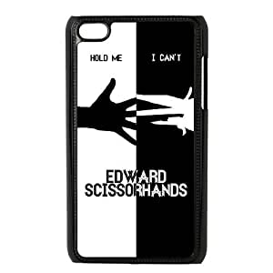 TOSOUL Custom painting Edward Scissorhands Phone Case For Ipod Touch 4 [Pattern-1]