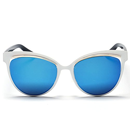 GUGGE Womens Full Frame Fashion Cool Fashion - Face For Fat Sunglasses Best